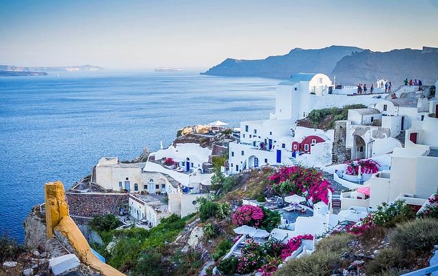 Najkrajšie grécke ostrovy