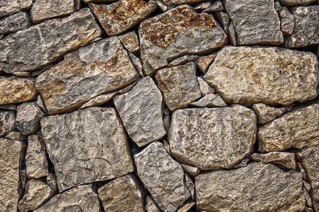 Detail na obklad z prírodného kameňa